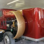 semi truck paint job